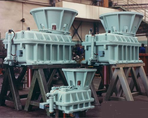 Hydro Gearboxes assembled - Shackleton Engineering
