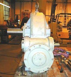 Coal Conveyor Double Worm Gearbox