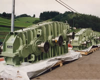 Roll Gearboxes