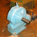 Double Worm Gearbox 4x8 inch